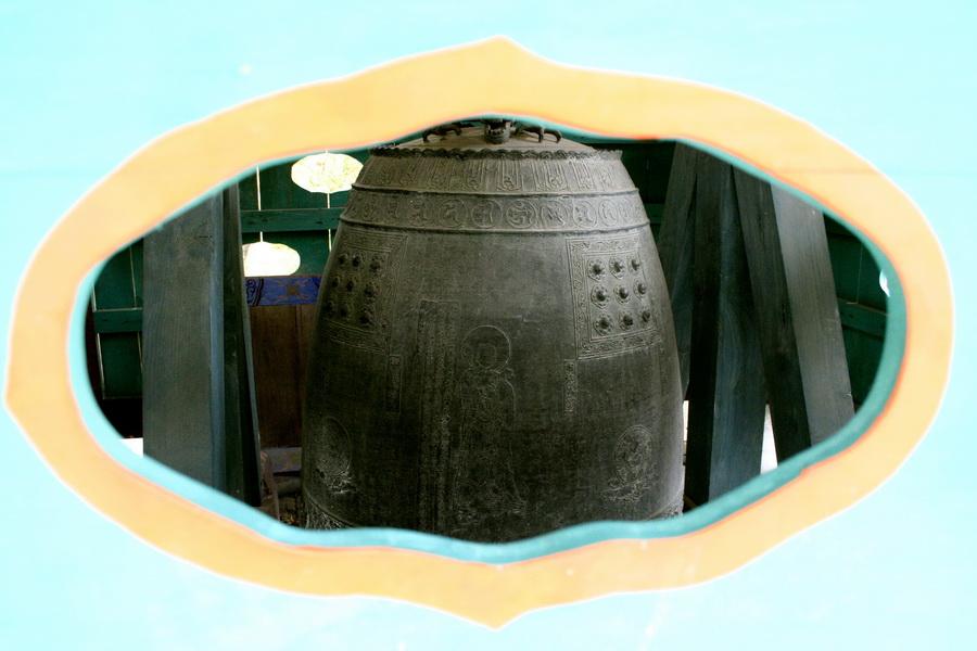Bronze bell, Gapsa Temple(2)