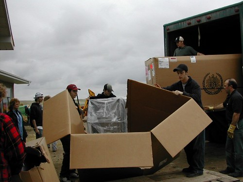 June 1, 2004 - Equipment delivery