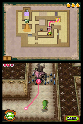 The Legend of Zelda Spirit Tracks screenshot 6
