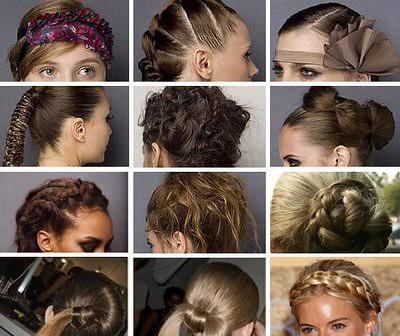penteados para o inverno 2010