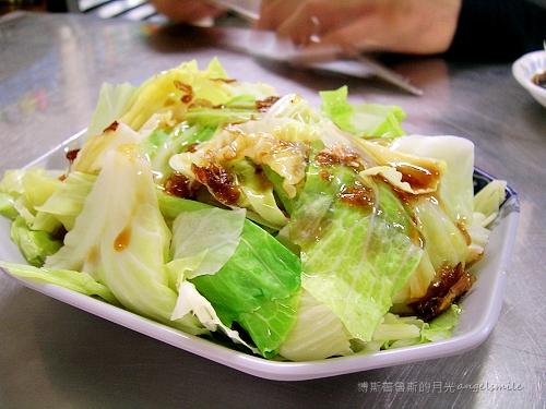 亓家蒸餃 - 清爽的燙青菜