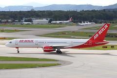 HB-IHR 5 Boeing 757-2G5 Air Berlin Switzerland (Belair) ZRH 01OCT08 (Ken Fielding) Tags: hbihr boeing b7372g5 airberlin belair aircraft airplane airliner jet jetliner