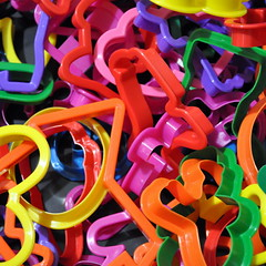 Colorful Cookie Cutters (CyberDSLR.com ) Tags: pink blue red wallpaper green colors yellow intense rainbow colorful colours purple spectrum vibrant rich shapes deep plastic multicolored striking catchy assorted cookiecutters truecolors d90
