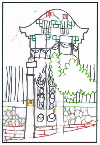 Dibuix de la Casa
