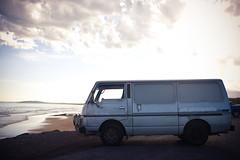 Van and Beach