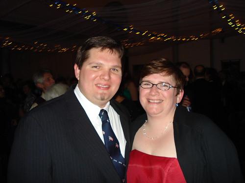 at the ball