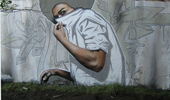 Glasgow (SmugOne) Tags: street uk boy urban man guy art wall real graffiti scotland photo 3d mural paint artist comic unitedkingdom glasgow character tag cartoon picture scottish style can smug spray hiphop spraypaint hip hop graff aerosol tagging aerosolart spraycan realism realistic photorealistic photorealism teamalosta alosta smugone