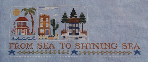 Sea to Shining Sea as of 1/19/09