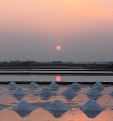 Salty Sunset (A2L) Tags: sunset thailand salt fields hua hin photofaceoffplatinum pfogold pfosilver thepinnaclehof tphofweek36