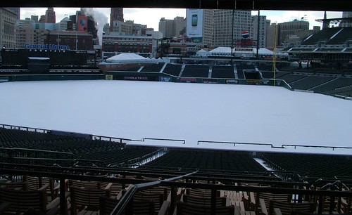 Comerica Early Winter Morning