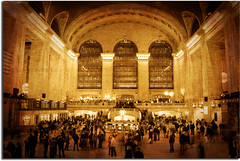 Grand Central Terminal (DP|Photography) Tags: newyorkcity monochrome sepia vintage antique grunge tagged textures mainhall oldphotos distressed grandcentralterminal trainstations urbanlife lostintime theunforgettablepictures debashispradhan dpphotography dp|photography