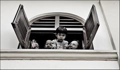 Open Window (LEADiya) Tags: street bw window searchthebest malaysia penang soe supershot blackwhitephotos shieldofexcellence platinumphoto