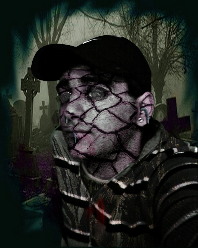 Photoshop zombies dark
