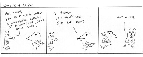 366 Cartoons - 003 - Coyote and Raven