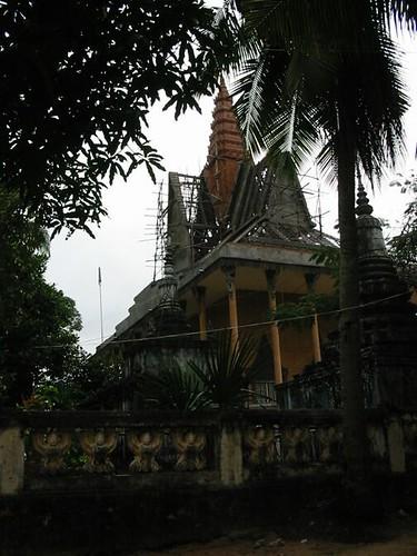 pagode in restauratie
