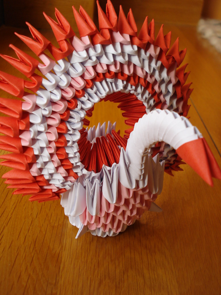 The Worlds Best Photos Of Folding And Swan Flickr Hive Mind 3dorigamiswandiagram 3d Origami Peacock Diagram Sunset92 Tags Animal Animals Paper Was Time