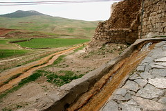Runoff from the crater lake at Takht-e Soleyman, Iran (**El-Len**) Tags: travel water iran persia unesco explore historical worldheritage mongol runoff sufur sassanian sasanian takhtesoleyman explorewinnersoftheworld