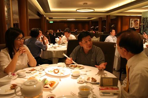 游龍輝先生 接受管碧玲國會辦公室訪問