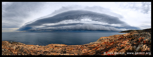Storm at Frenchman's Rocks, Eyre Peninsula, SA, Australia