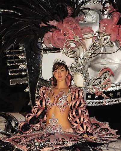 Segunda Dama de Honor Carnaval de Santa Cruz de Tenerife 2009.