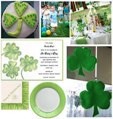 St. Patrick's Day Party for Kids (finestationery) Tags: green shamrock scavengerhunt potofgold stpatricksdayparty kidsparties