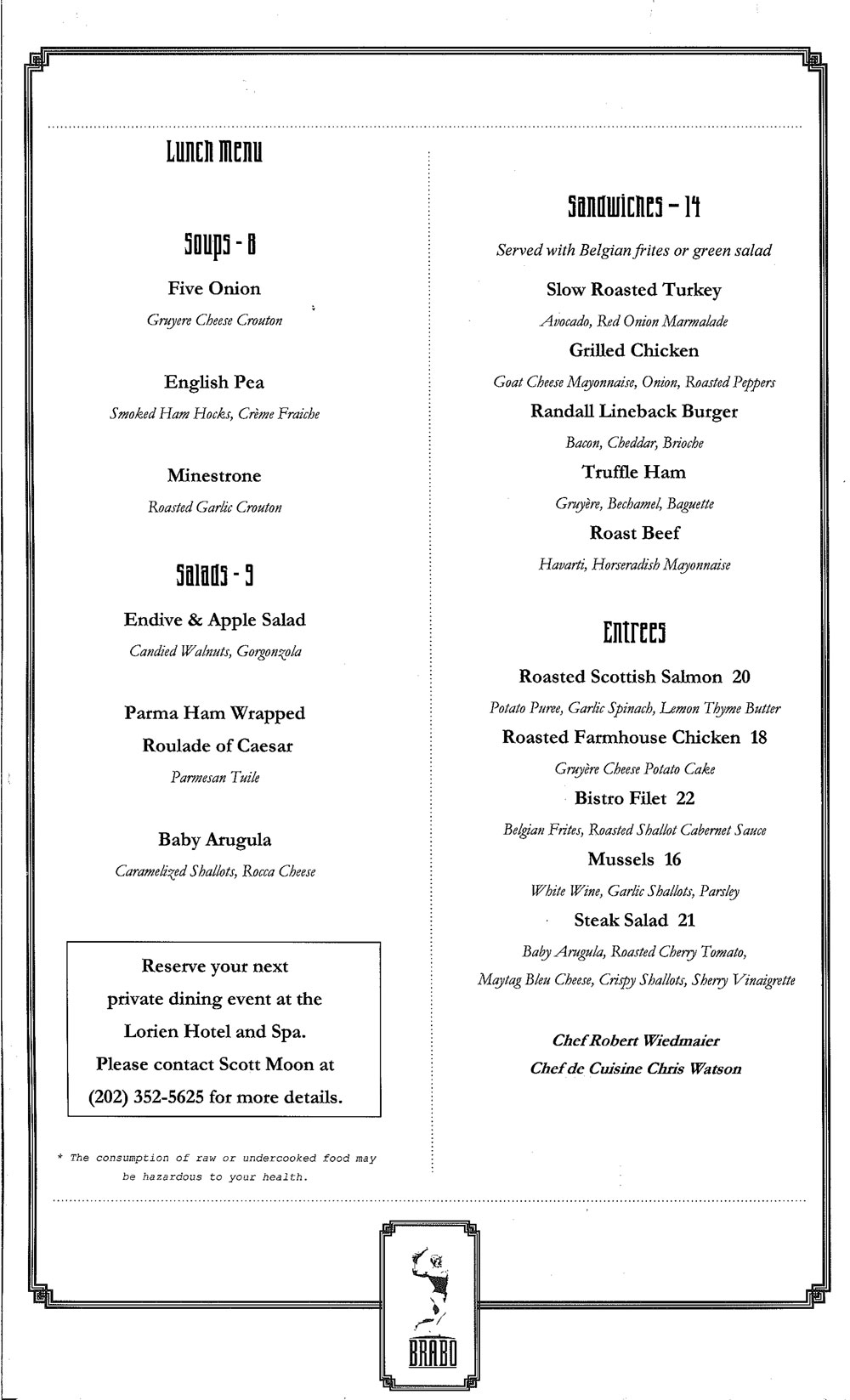 whatever menu