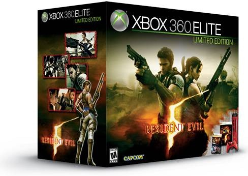 Xbox 360 Resident Evil Limited Edition Console Box