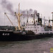 U.S.-built cargo ship - 1, Shanghai, 1983