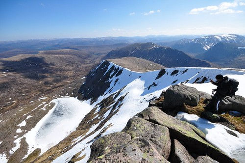 Sron Riach from above Coire Sputan Dearg