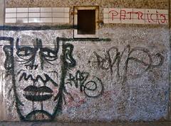 Try und Patricia (web.werkraum) Tags: street urban streetart germany deutschland typography graffiti expression wand urbanart april lettering try documentation patricia schrift lovestory brandenburg 2009 zeichen versalien schriften dokumentation wnde prenzlau berlinerknstlerin webwerkraum karinsakrowski streetartbrandenburg schrften