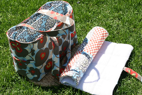 Amy Butler Everything Bag w/ Changing Pad