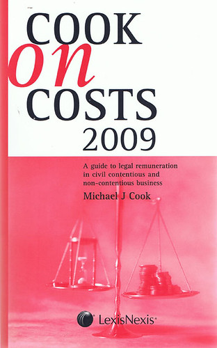 Cook on Costs 2009
