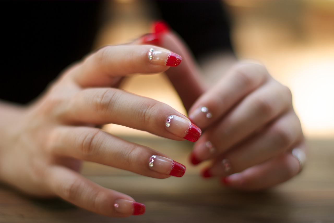 Characteristics of Japanese nail art fashion design