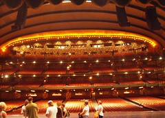 Radio City Music Hall Stage (hmerinomx) Tags: street new york city newyorkcity trip travel viaje light vacation music usa art radio teatro luces hall theater manhattan balcony stage escenario seat artdeco seating 50th avenue deco balcon vacaciones americas 6th the asiento butacas