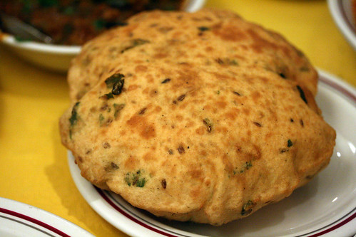 Not so flat bread - Kastoori Bhatura