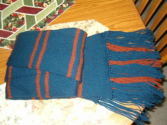Ravenclaw book scarf