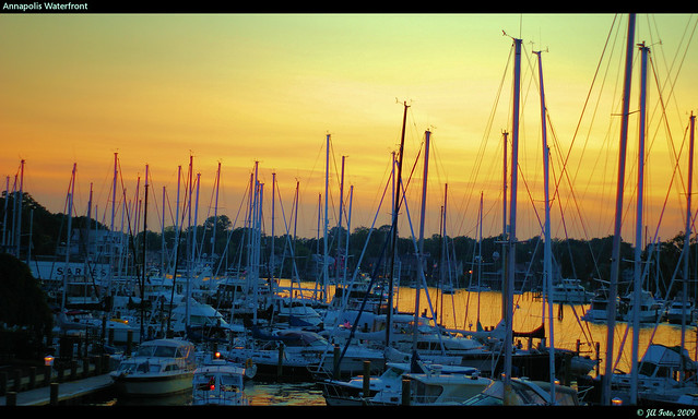 Sunset at the Annapolis Waterfront
