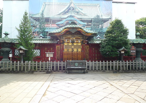 Tosho-gu shrine (under repairs)