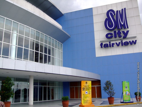 Facade of SM Fairview