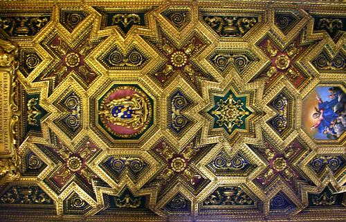 Ceiling in Santa Maria in Trastevere