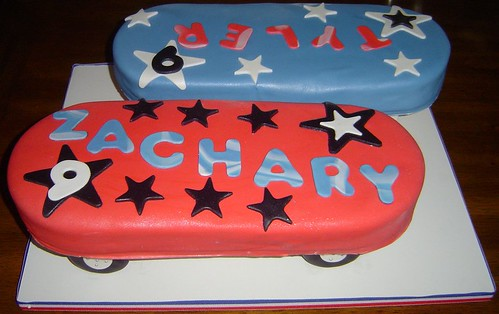 Skateboard Cakes For Twin 9 Year Old Boys