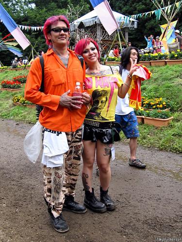 Tattoo Couple at Fuji Rock