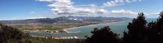 collage di foto (Sergionza) Tags: sea sky mountains montagne canon mare liguria powershot s3 apuane magra montemarcello sarza marligere