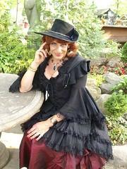 Mistress Laurette (Laurette Victoria) Tags: hat festival wisconsin bristol costume renfaire renaissancefaire laurettevictoria