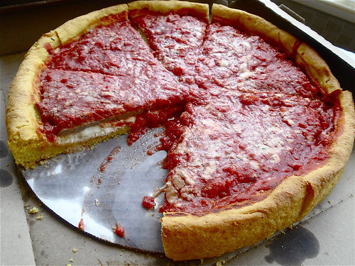 deep dish from Gino's