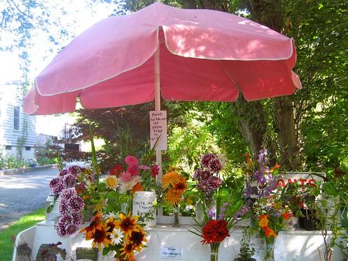 Roadside Flower Stand