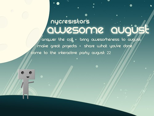 Awesome August Flyer