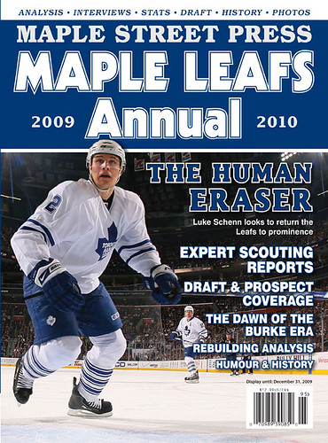 maple leafs annual cover