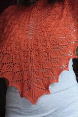 Aurantium Shawl (yuvee) Tags: lace shawl knits kal