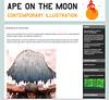 Ape on the Moon: Yuta Onoda (moonape) Tags: art modern illustration painting blog artist modernart fresh illustrator interview onoda contemporaryillustration yutaonoda alexmathers moonape
